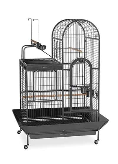 Prevue Pet Products Double Roof Bird Cage with Playtop