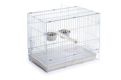 Prevue Hendryx Travel Bird Cage 1305 White