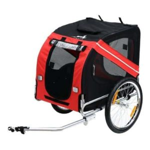 Aosom Elite Pet Bike Carrier-min
