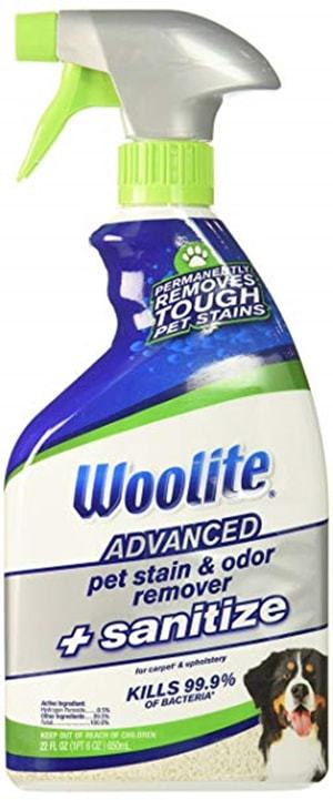 Bissell Woolite Advanced Pet Stain & Odor Remover + Sanitize