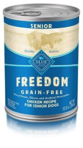Blue Freedom Wet Dog Food For Senior Dogs