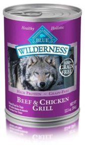 Blue Wilderness High Protein Grain Free Adult Wet Dog Food