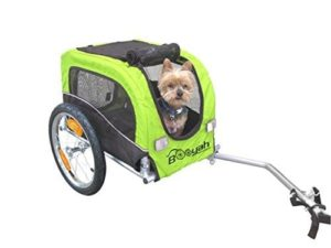 Booyah Small Dog Pet Bike Bicycle Trailer Pet Trailer-min