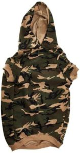 Casual Canine Cotton Camo Hoodie
