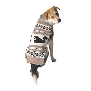 Chilly Dog Cowichan Squirrels Sweater
