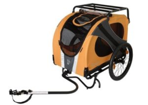 DoggyRide Novel10 Anniversary Bike Trailer for Pets-min