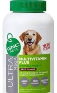 GNC Ultra Mega Multivitamin Plus for Senior Dogs