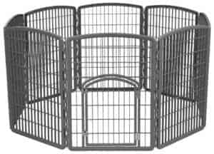 IRIS Exercise Pet Panel Playpen with Door