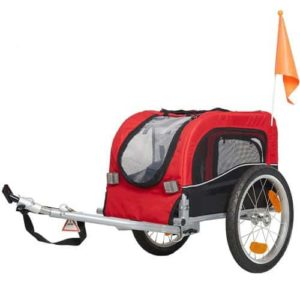KARMAS PRODUCT Pet Bike Carrier Dog Cat Pet Bicycle Trailer Pet Stroller-min