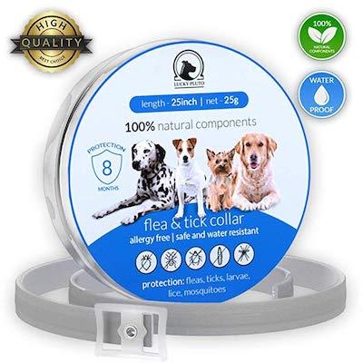 LuckyPluto Flеa Tiсk Collar Prevention Control for Dogs & Cats