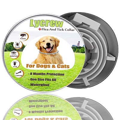 Lycrew Dog Collar flea and tick Control