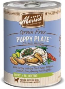 Merrick Classic Grain Free Puppy Plate Canned Dog Food