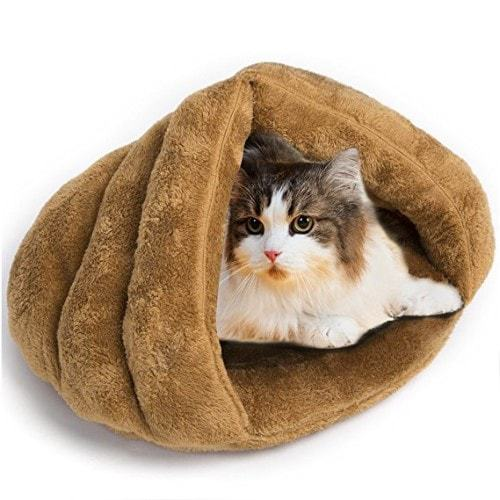 Mojonnie Soft Self-Warming Cat Bed