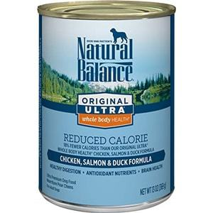 Natural Balance Original Ultra Whole Body Health Wet Dog Food Reduced Calorie Formula