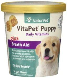 NuturVet VitaPet Puppy Plus Breath Aid