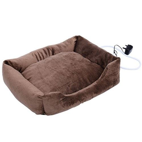 PawHut Electric Heated Pet Bed