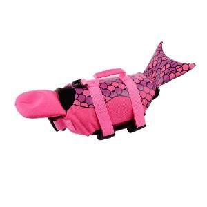 PetCee Mermaid Dog Life Jacket