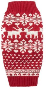 Reindeer Holiday Sweater for Dogs