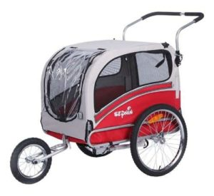 Sepnine Pet Dog Bike Trailer-min