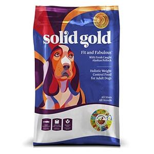 Solid Gold Weight Control Dog Food Fit & Fabulous Potato Free Alaskan Pollock