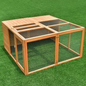 "Tangkula 47"" Bunny Cage"