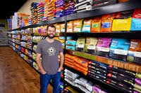 Trevor MacKellar, co owner of Healthy Pet in Austin TX