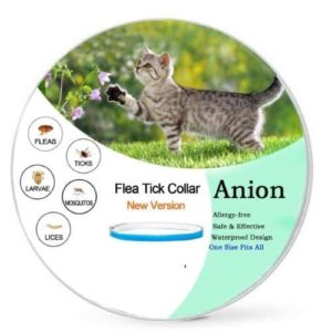 anion flea and tick prevension collar