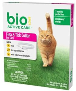 biospot active care flea and tick collar