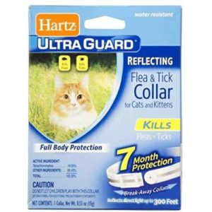 hartz ultraguard reflecting flea and tick collar