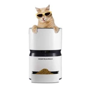 honeyguardian s25 smart automatic pet feeder