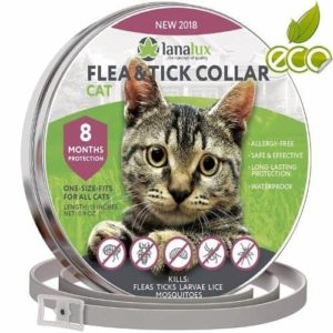 Lanalux Cat Collar Pet Essential Oil Pest Control Collars