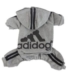scheppend adidog pet clothes