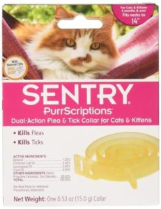 surgents sentry dual action flea and tick collar