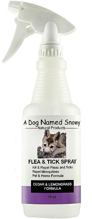 A Dog Named Snowy Natural Flea, Tick and Mosquito Control Spray