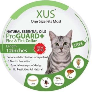 xus flea and tick collar