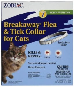 zodiac breakaway flea and tick collar