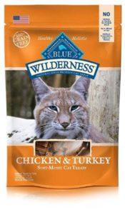 BLUE Wilderness Grain Free Cat Treats