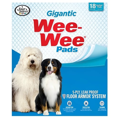 Four Paws Wee-Wee Gigantic Potty Pads