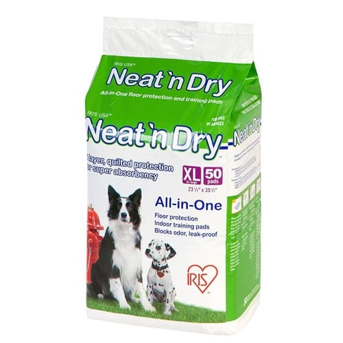 IRIS Neat 'n Dry Premium Pet Training Pads, Extra Large