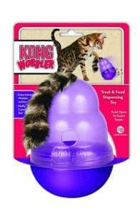 KONG Cat Wobbler Treat Dispensing Toy