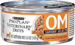 Purina OM Savory Select Overweight Management Cat Food