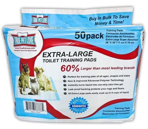 True Pet Love Extra Large Pet Wee Pads