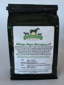 Alternative Animal Worm Free Naturally-Natural Cat Wormer