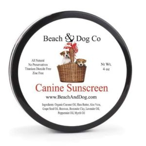 Beach & Dog Co. Canine Sunscreen