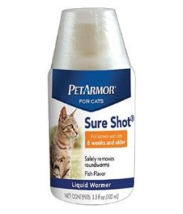 PetArmor Sure Shot Liquid Wormer for Cats