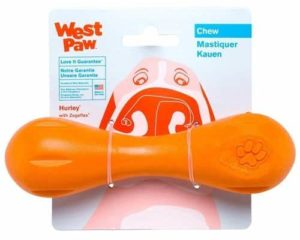 West Paw Zogoflex Hurley Durable Dog Bone Chew