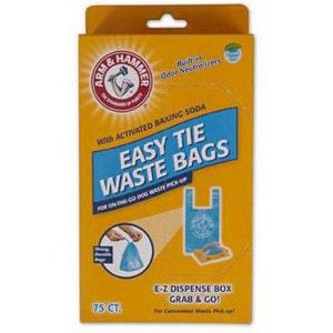 Arm & Hammer 71041 Easy-Tie Waste Bags