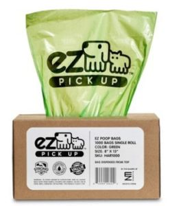 EZ 1000 Pet Waste Disposal Bags