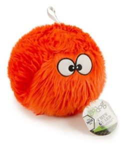 goDog Furballz Plush Dog Toy with Chew Guard Technology