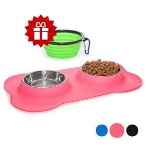 KEKSSmall Dog Bowls Set